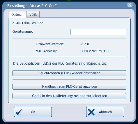 Devolo Cockpit Software