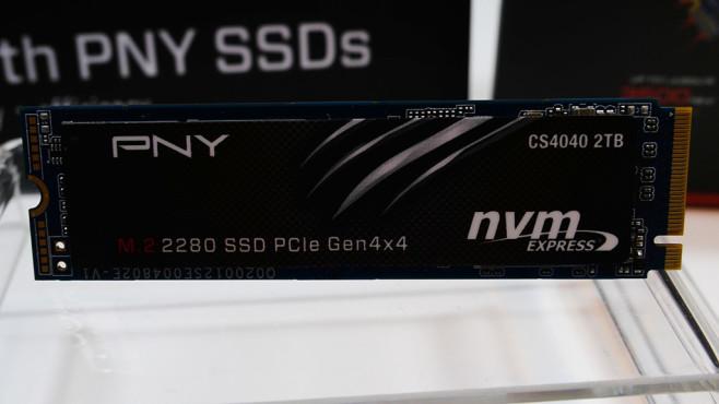 PNY's M.2 2280 SSD PCIe Gen4 x4 SSD mit 2 Terabyte Kapazität