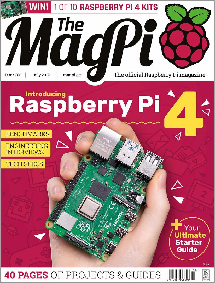 Raspberry Pi 4 Magazin