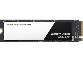 500GB WD Black NVMe SSD