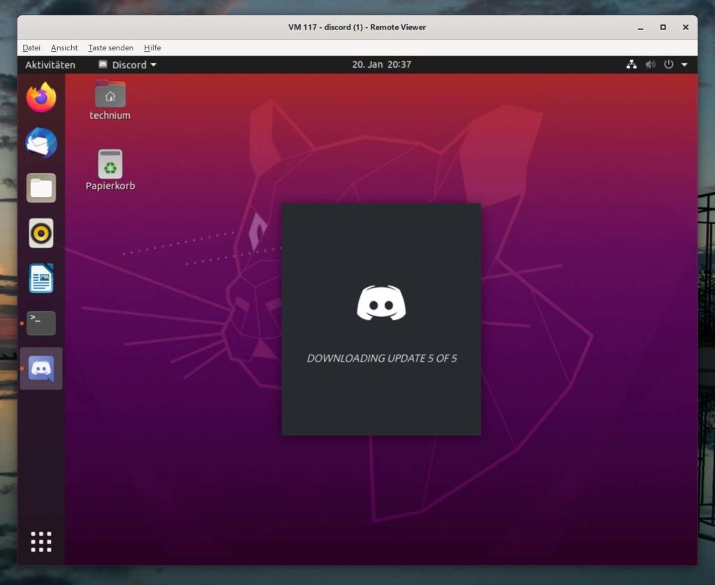 Debian Discord installieren - updates