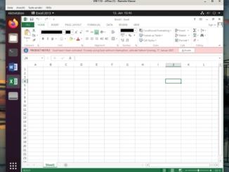 Debian Microsoft Office installieren - Tutorial - excel