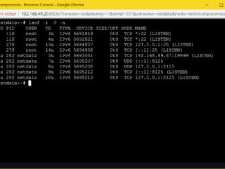 Debian offene Ports anzeigen - lsof