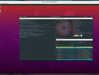 Ubuntu Tilix Terminal Emulator installieren