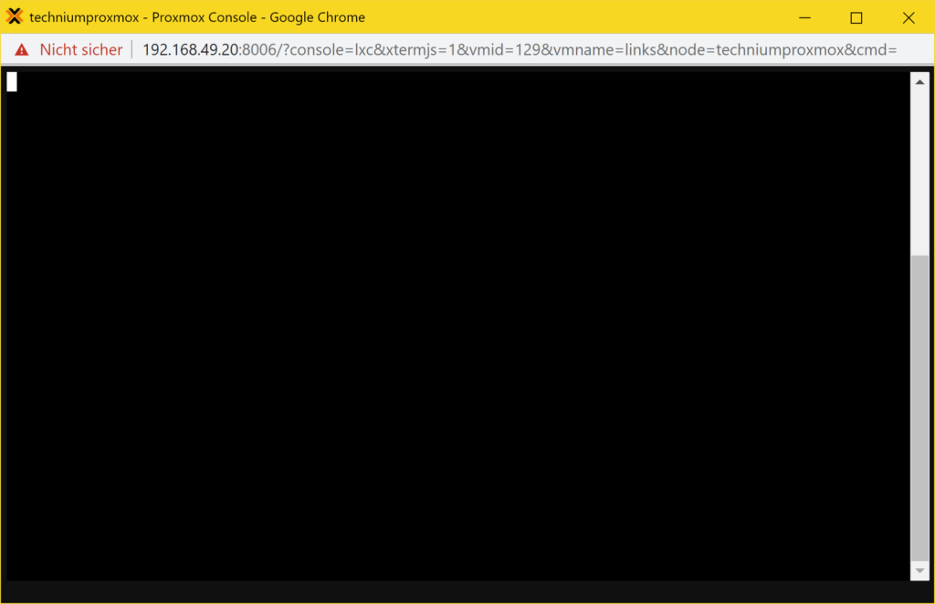 Debian Links 2.6 installieren - Tutorial - press esc