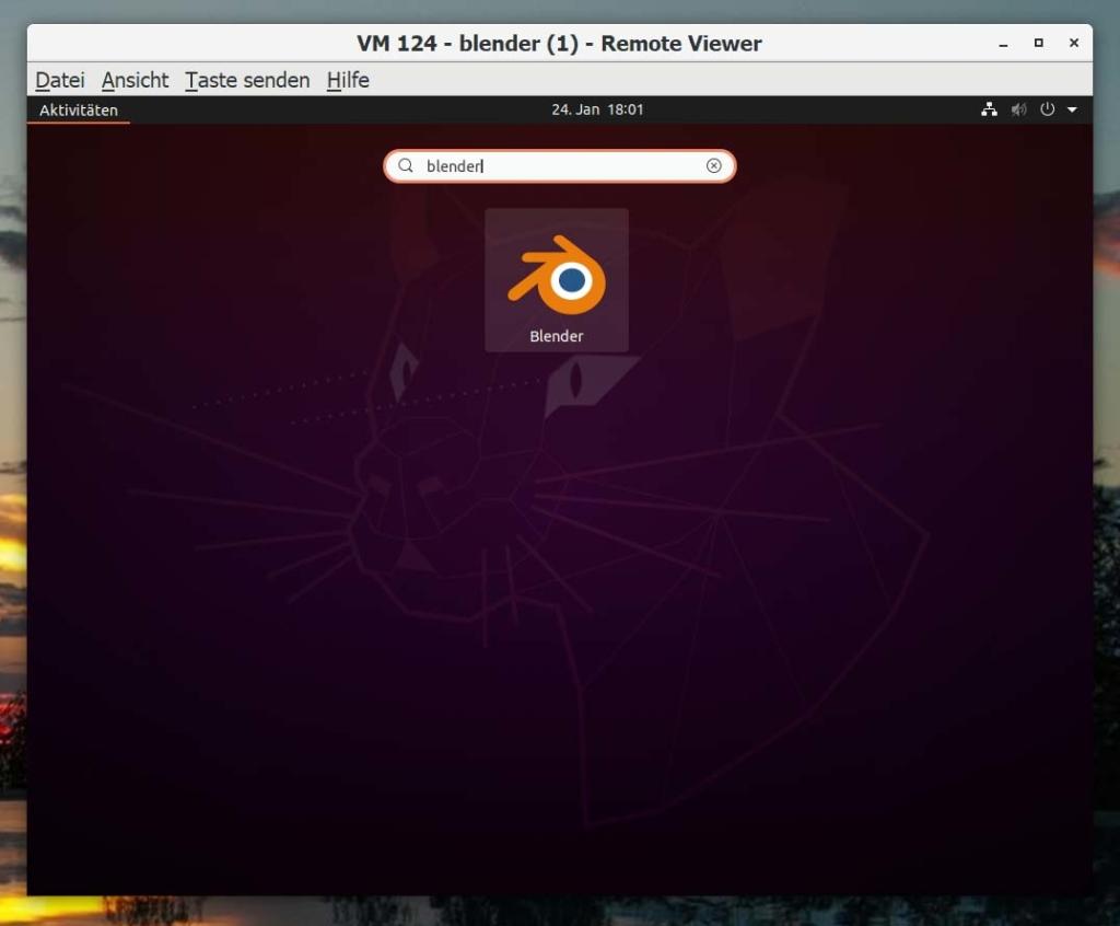 Debian Blender installieren - search