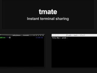 Debian tmate installieren