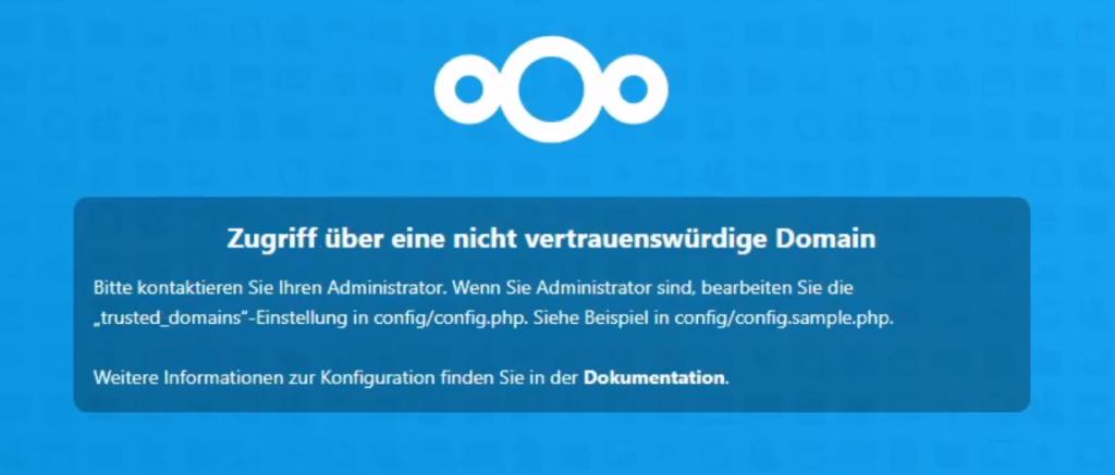 Nextcloud-Zugriff-ueber-eine-nicht-vertrauenswuerdige-Domain