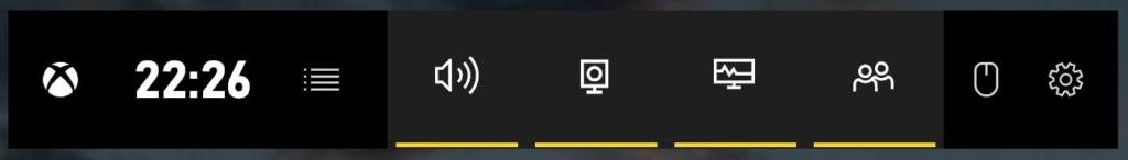 Windows 10 Bildschirmaufname - Bar