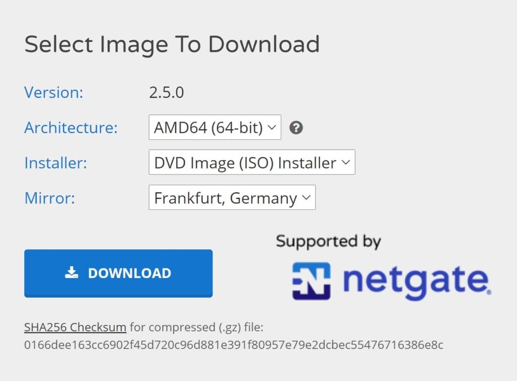pfSense 2.5.0 installieren - download