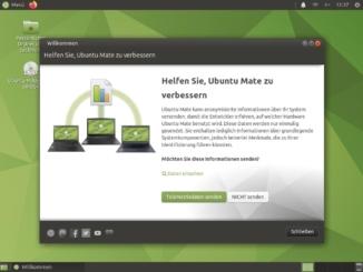 Ubuntu MATE 20.10 installieren - installed