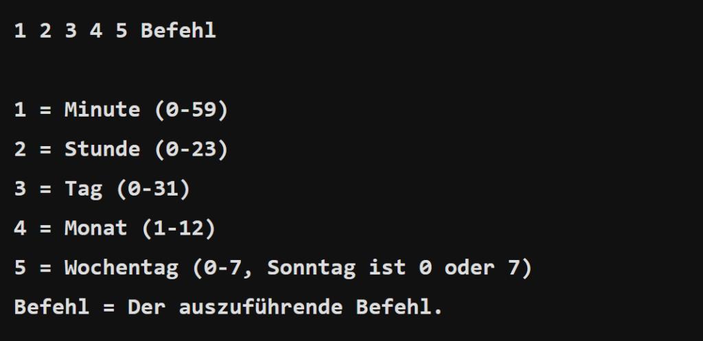 Debian automatischer Neustart mit Crontab - help2