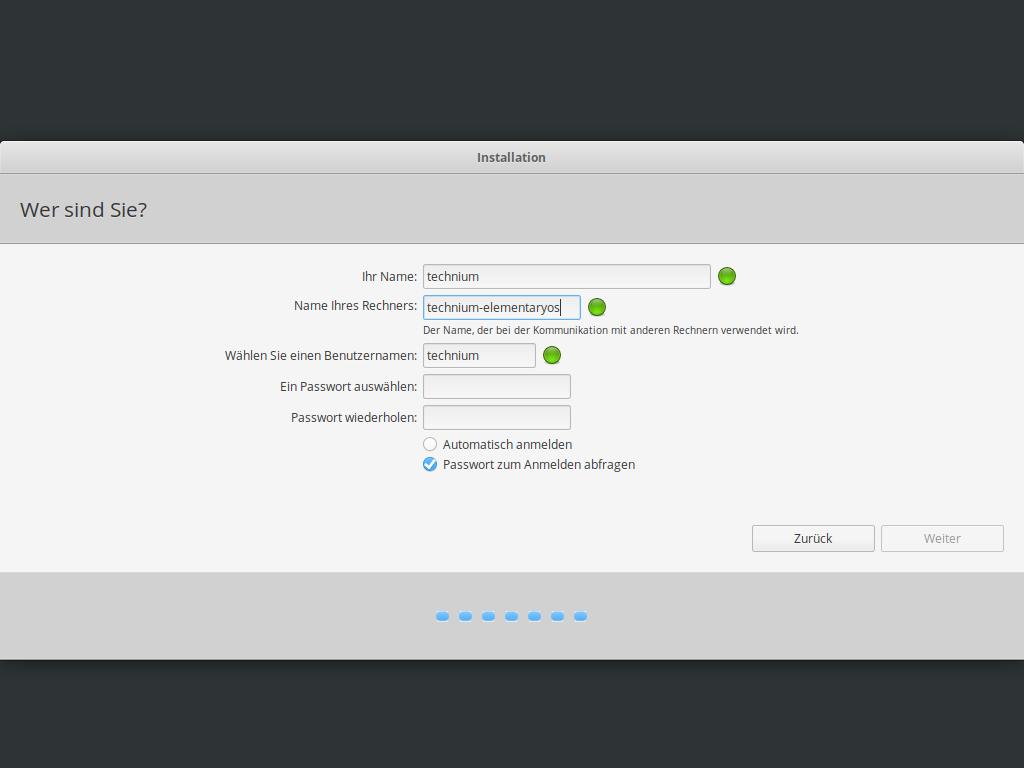 Elementary OS 5.1 installieren - disk