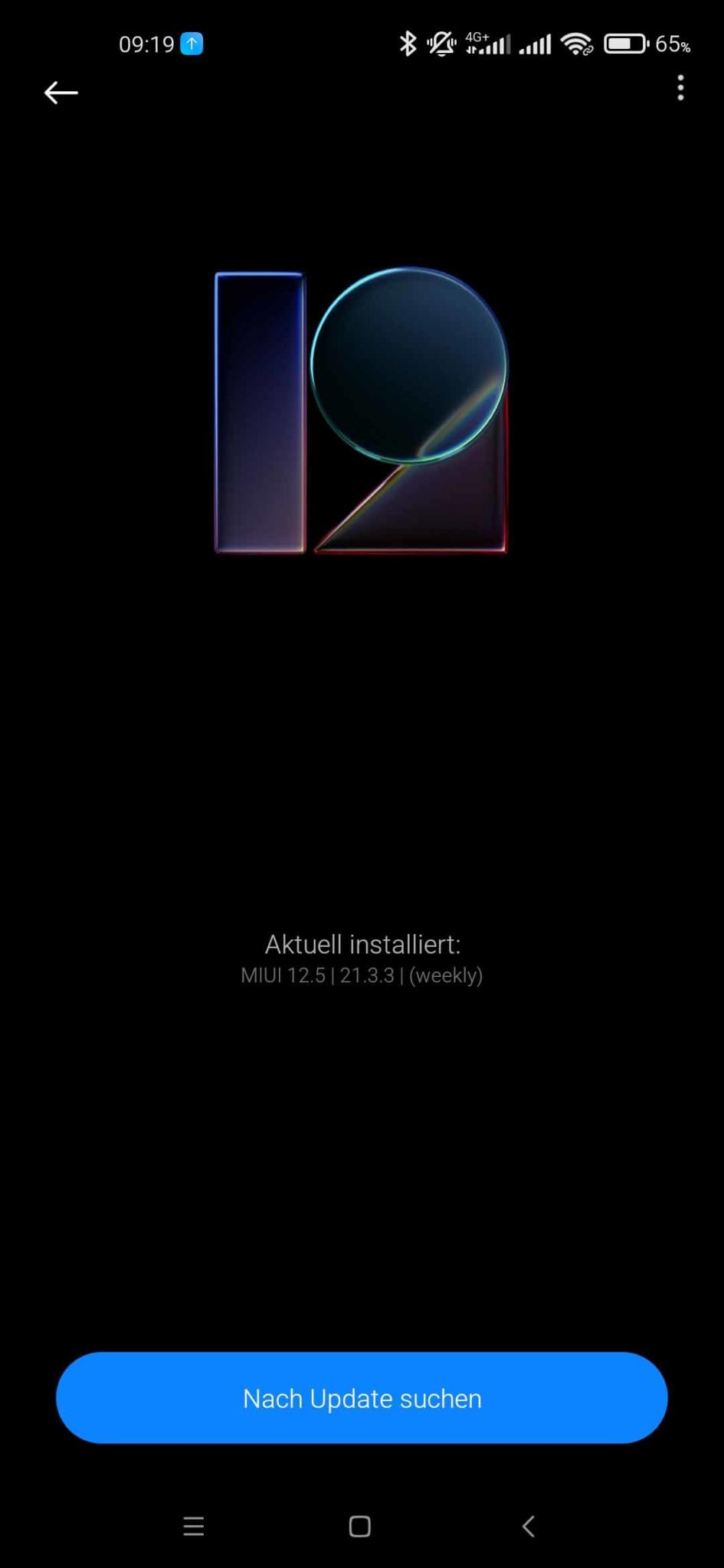 Xiaomi Mi 10 EU ROM Update - Nach Updates suchen