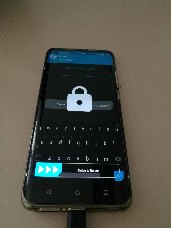 Xiaomi Mi 10 EU ROM Update - Swipe to Unlock