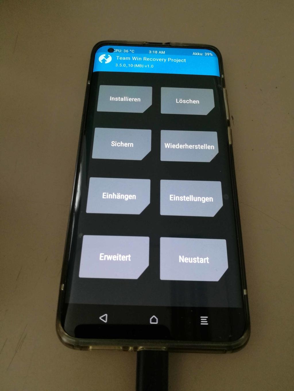 Xiaomi Mi 10 EU ROM Update - Installieren