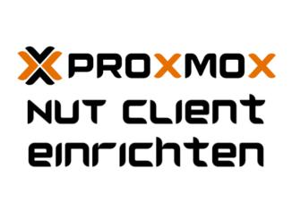 Proxmox NUT Client einrichten - USV verwenden