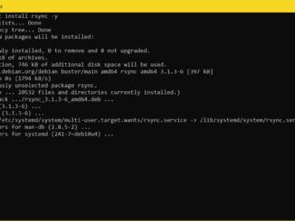 Dateien mit rsync Synchronisieren - rsync installieren
