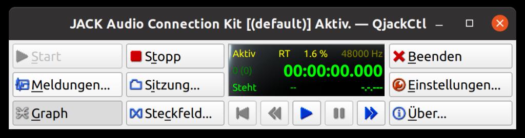 JACK installieren - connection kit