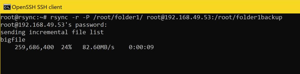 Dateien mit rsync Synchronisieren - dateien hochladen