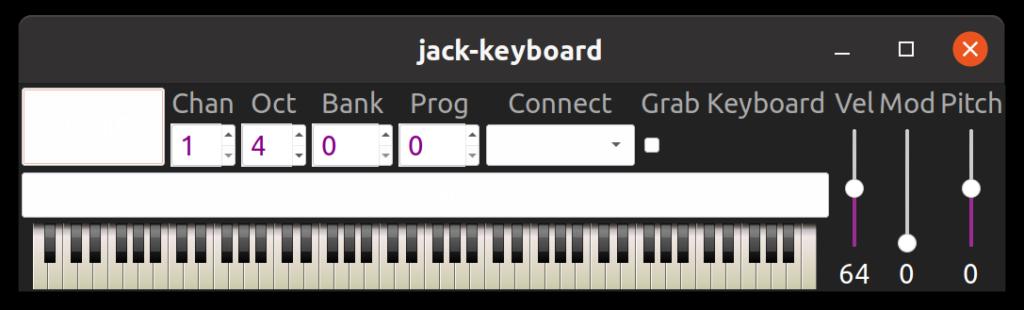 JACK installieren - keyboard