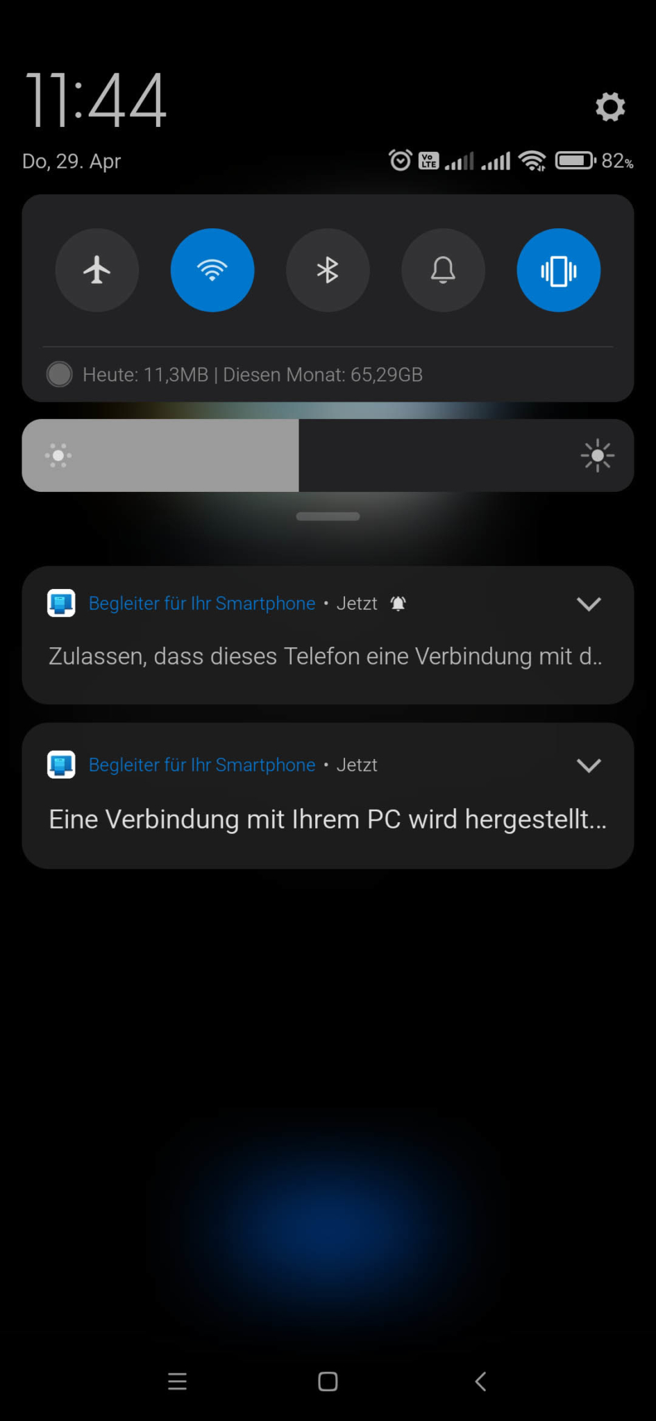 Windows 10 mit Android Smartphone verbinden - Berechtigungen erteilen