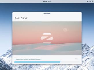 Zorin OS 16 installieren - installieren
