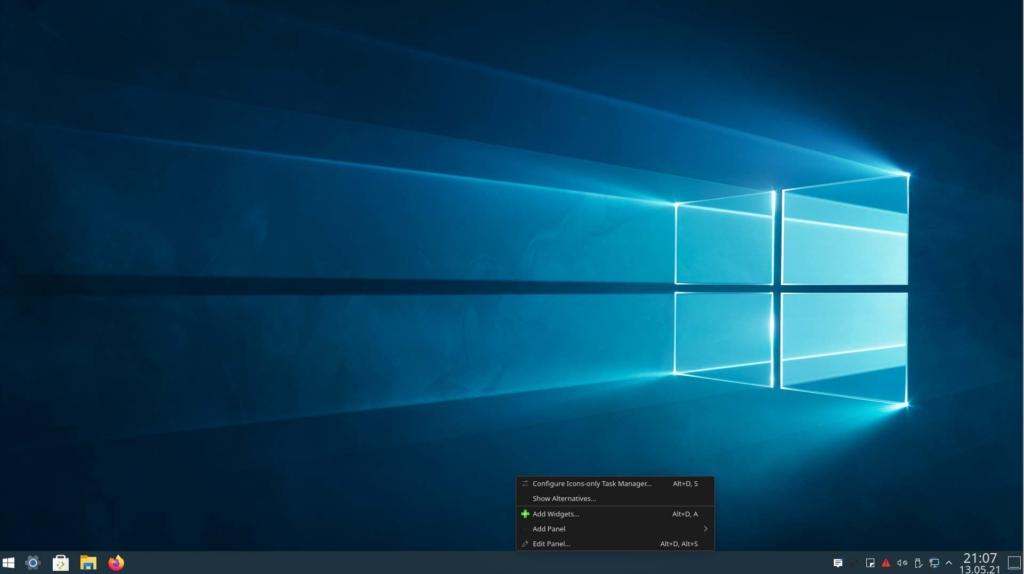 Kubuntu Windows 10 Theme installieren - KwinDE Icons auswählen