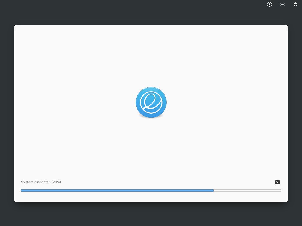Elementary OS 6 installieren - installieren