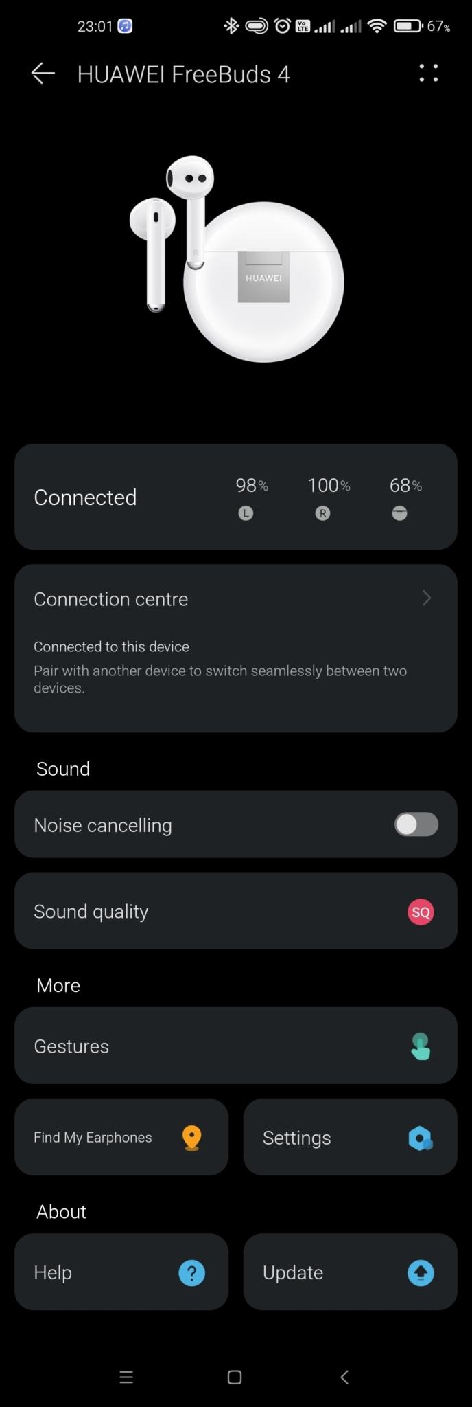 Huawei FreeBuds 4 - AI Life